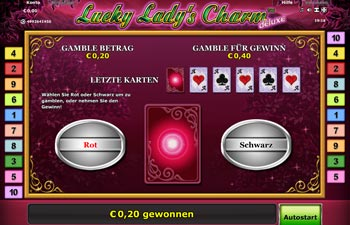 Lucky Lady's Charm Risikospiel