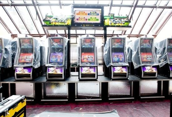 Dollar storm slot machine